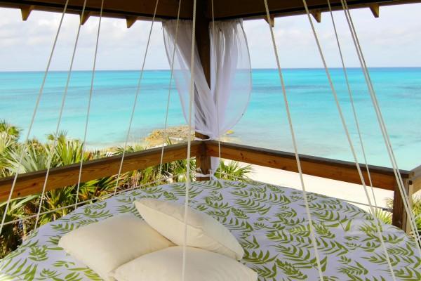 private villa bungalow view